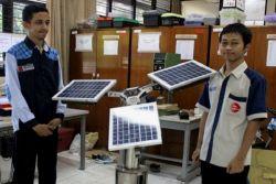 Wow, Mahasiswa Indonesia Ciptakan Pohon Elektrik Pencegah Polusi Udara!