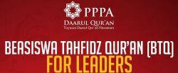 Beasiswa Tahfidz Quran (BTQ) for Leaders untuk Lulusan SMA/SMK/Sederajat