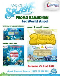 Paket Hemat di Seaworld Ancol Selama Ramadhan