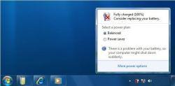 Cara Mudah Mengatasi Icon Tanda Silang Baterai Laptop
