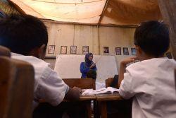 Dana BOS Tidak Cair Tiga Bulan, Ribuan Guru Unjuk Rasa