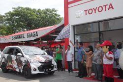Inilah Posko Mudik dan Daftar Bengkel Toyota Siaga 24 Jam