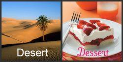 Bedanya Dessert dan Desert pada Bahasa Inggris