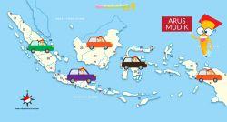 Peta Jalur Mudik Lebaran 2016