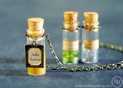 Kamu Penggemar Harry Potter? Yuk Buat Kalung Botol Ramuan Harry Potter!