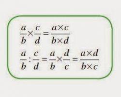 Perkalian dan Pembagian Pecahan Matematika Kelas 5 SD