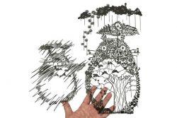 Seniman Ini Buat Seni Potongan Kertas yang Detailnya Tidak Main - Main!