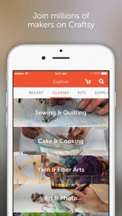 Craftsy, Belajar DIY Serasa dalam Genggaman