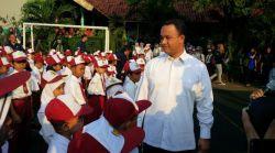 Begini Aksi Menteri Anies Lakukan Sidak Hari Pertama Sekolah di Bogor