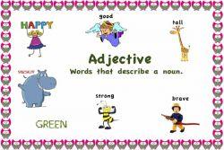 Adjective dalam Bahasa Inggris