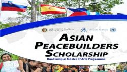Ini Dia Beasiswa Gelar Ganda Asian Peacebuilders Scholarship (Aps) 2017-2018