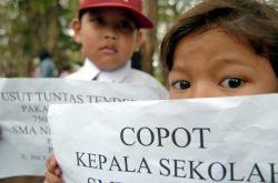 Pungutan Liar, Sejumlah Kepala Sekolah di Bekasi Dilaporkan ke Polisi