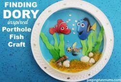 Yuk Buat Pajangan Aquarium Finding Dory!