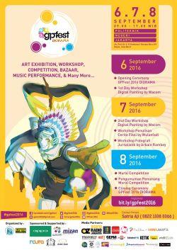 Gpfest 2016 Diorama: Eksplorasi Imajinasimu!