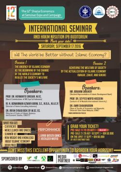 International Seminar - 12th Season