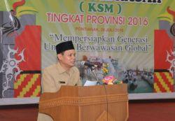 Jawa Timur Sabet Juara Umum Kompetisi Sains Madrasah (KSM) 2016