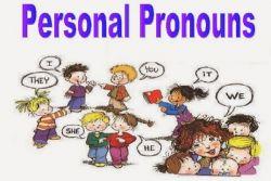 Tiga Grup dari Personal Pronoun