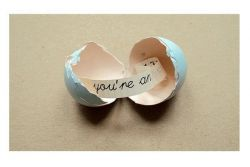 Buat Pesan Rahasia dalam Telur!