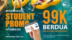Promo 100k untuk 2 Orang Bersama Waterbom Jakarta!