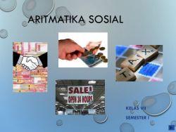 Materi Kelas VII: Aritmatika Sosial (Bag. 1)