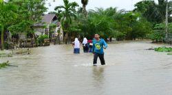 Akibat Banjir, 30 Sekolah di Aceh Barat Terpaksa Diliburkan