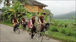 Larang Siswa Bawa Motor, Polres Bulungan Buat Gerakan Bersepeda