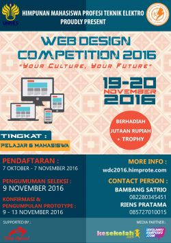 Web Design Competition