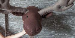 Cara Membuat Hiasan Dinding Kepala Rusa dari Kain Flanel