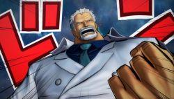 Monkey D. Garp Muncul dalam DLC Gold Pack 3 untuk One Piece: Burning Blood!