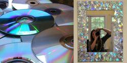 Membuat Frame Mosaik yang Keren dari Kepingan CD Bekas