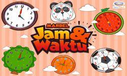 Belajar Jam dan Waktu Bersama Marbel!