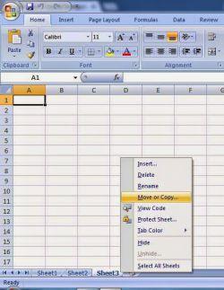 Cara Mengcopy Sheet di MS Excel