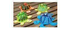 Membuat Celengan Kura-Kura dari Botol Plastik Bekas