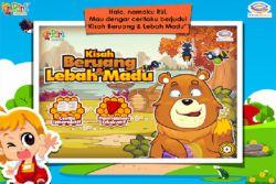 Simak Cerita Beruang dan Lebah Madu dengan Riri!