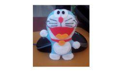 Membuat Boneka Doraemon yang Cantik dari Kain Flanel