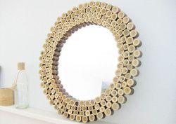 Cara Menghias Cermin dari Bambu