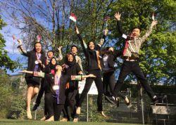Pelajar Indonesia Kibarkan Merah Putih di Stuttgart, Jerman!
