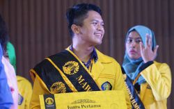 Yudhistira Oktaviandie Terpilih sebagai Mahasiswa Berprestasi UI 2017