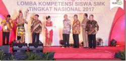 Jawa Tengah Juara Umum Lomba Kompetensi Siswa SMK 2017