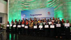 Mendikbud Beri Penghargaan kepada 108 Guru dan Tenaga Kependidikan Berprestasi