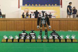 TIM Ichiro ITS Juara Umum Kompetisi Robot di Taiwan