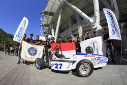 Garuda UNY Racing Team Harumkan Indonesia di Student Formula Japan 2017
