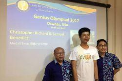 Dari Sampah Rambut di Salon, 2 Siswa Indonesia Raih Medali Emas Genius Olympiad