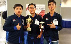 Kalahkan Juara Bertahan, Mobil Mini ITS Juara di AS