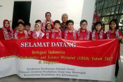 TIM Indonesia Raih 12 Medali Imso ke-14 di Singapura