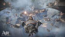 Mmorpg Ascent Infinite: Realm Besutan Dev. Pubg Perlihatkan Gameplay Pertempuran Skala Besar