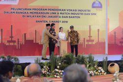 Pemerintah Luncurkan Pendidikan Vokasi Industri di Jakarta dan Banten