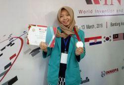 Wimmy, Mahasiswi Ums Raih Perak di Wintex 2018