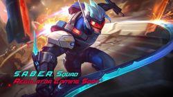 Bertambah Lagi Daftar S.A.B.E.R Squad, Saber Regulator Siap Hadir di Mobile Legends!