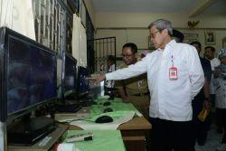 Beragam Kondisi UN Berbasis Komputer di Wilayah Jakarta